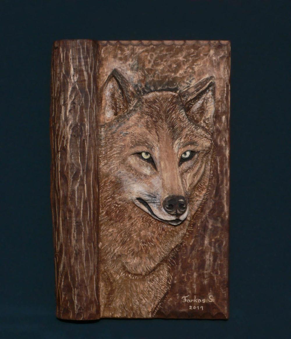 Farkas fa falikép