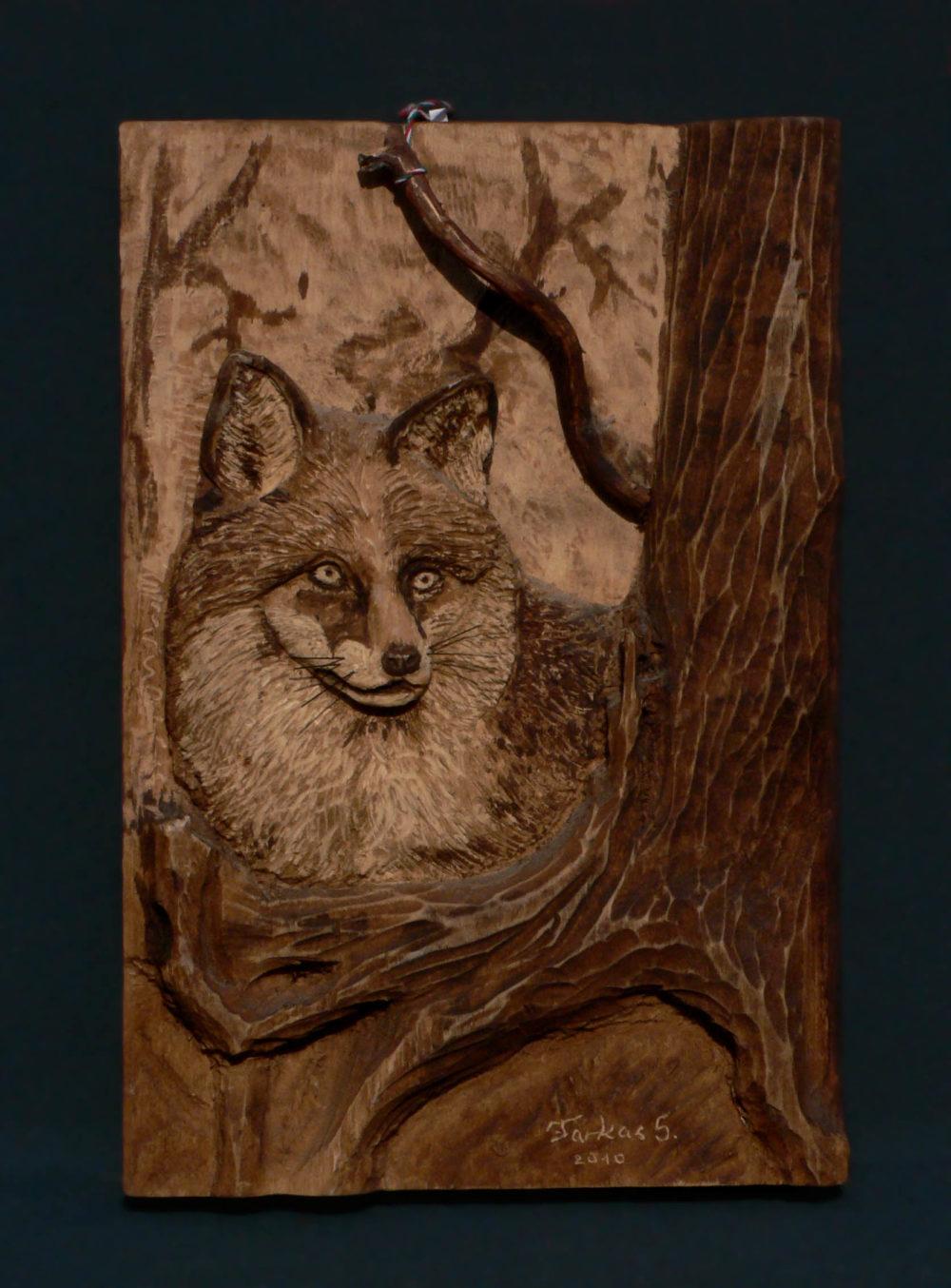 Róka falikép